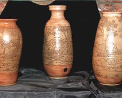 """Vases """"Parchemin"""""""